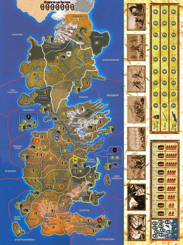 the game of thrones map. game of thrones map of the