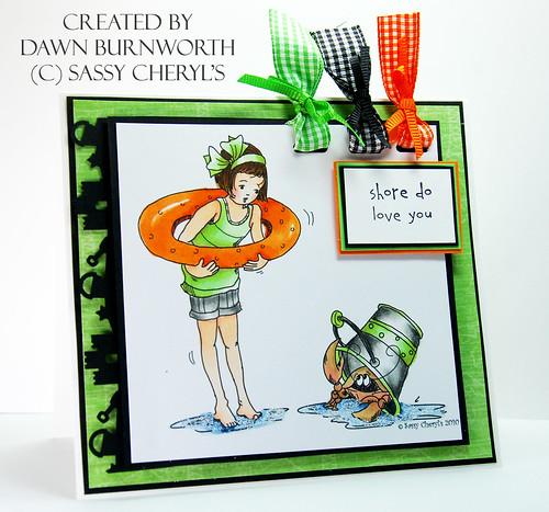 Sassy Cheryl's Challenge 3 crabby