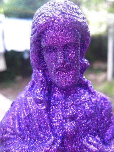 Purple Glittle Jesus