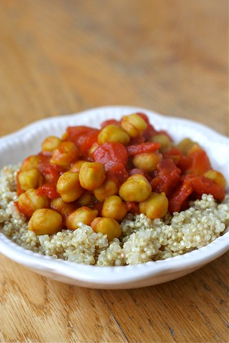 Tomato/Chickpea Curry