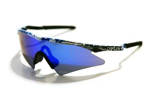 m frame sweep splatter greyblue iridium - M Frame