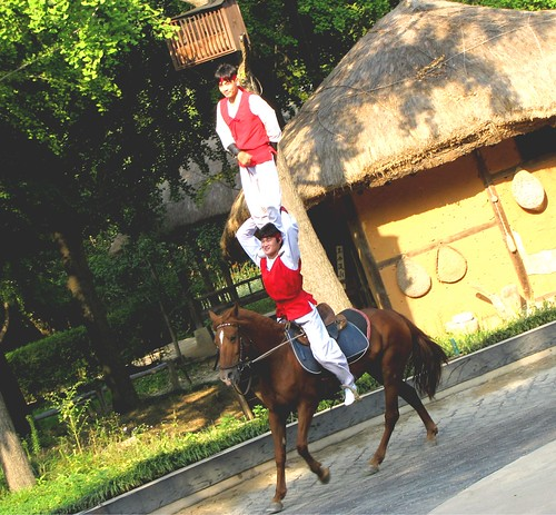 Korea Trip - Horse performance