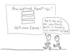 New equals sign