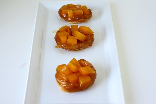 Upside-Down Mango Tartlets