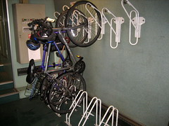 Amtrak Bike Storage