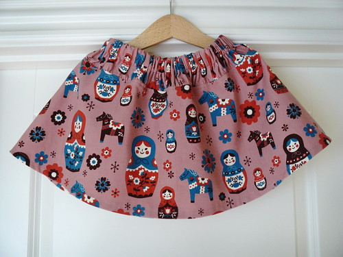 Matryoshka Skirt