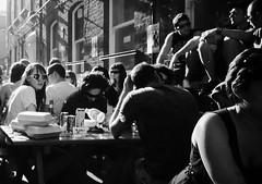 Sunday Chillin' (Ian Brumpton) Tags: street portrait people urban blackandwhite bw london blancoynegro monochrome blackwhite noiretblanc candid sunday markets streetphotography highcontrast monochromatic londres biancoenero chillout sunshades londonist easylikesundaymorning howdeepisyourlove londonstreetphotography sundaychilling