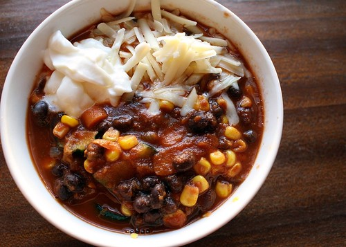 Vegetarian Black-Bean Chili