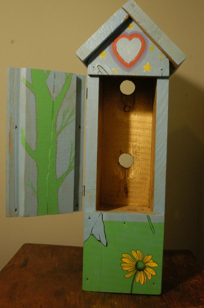 birdhouse inside