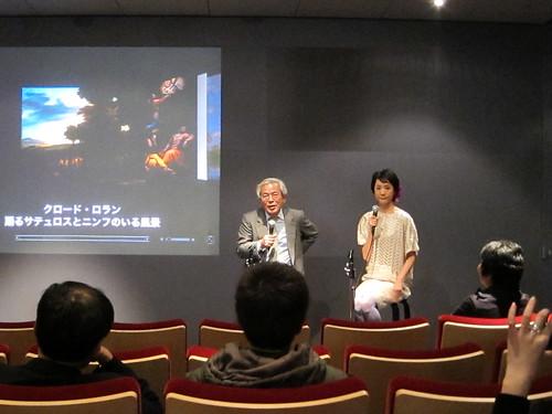 国立西洋美術館 青柳館長とハナさん