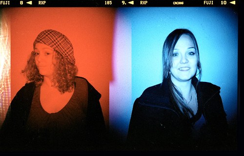 Holga 120 - Whitney vs. Karin