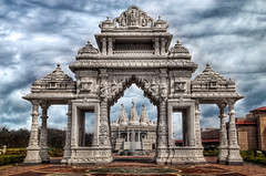 Yep, still Chicago (well, about 30 min from the loop) : BAPS Shri Swaminarayan Mandir Complex (Mister Joe) Tags: chicago temple illinois nikon joe marble hinduism hdr hindi barlett bapsshriswaminarayanmandir