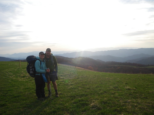 Chris and Misti on Max Patch