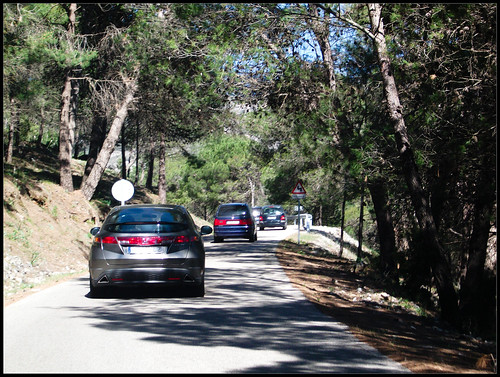 Carretera refugio de Juanar
