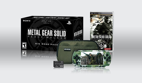 METAL GEAR SOLID PEACE WALKER Big Boss Pack 1