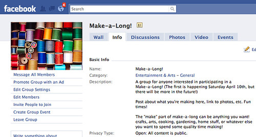 make-a-long on facebook