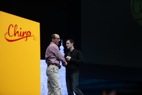 Chirp 2010 - Dick Costolo, Evan Williams