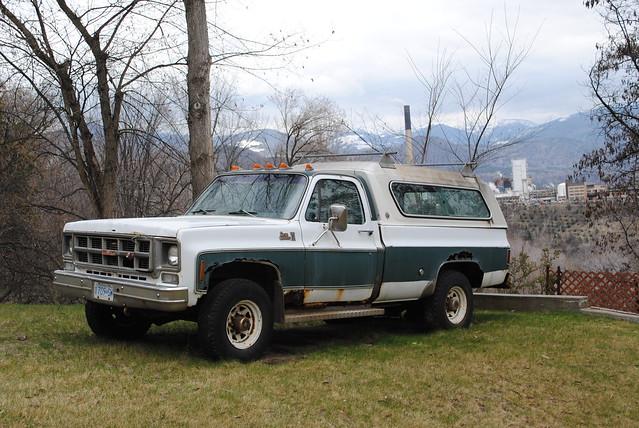 classic abandoned truck rust sierra 1978 gmc trailbc