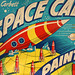Tom Corbett SPACE CADET Paint Set