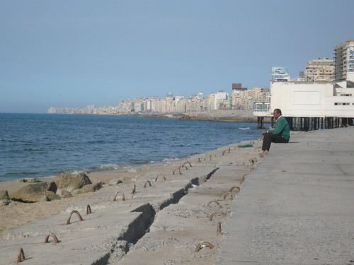 Corniche and the Mediterranean Sea