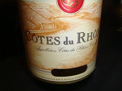 Vino E. Guigal Cotes du Rhône