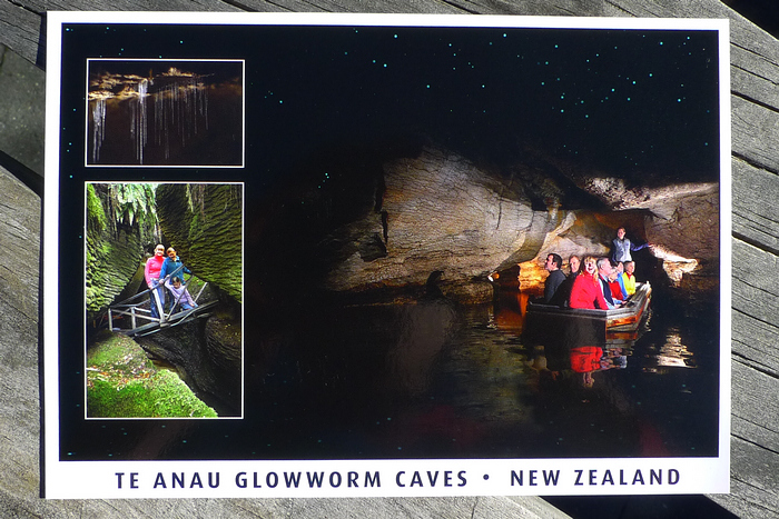 Postcard of Glowworm Caves