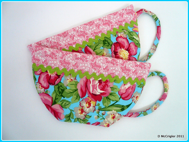 teacup potholders