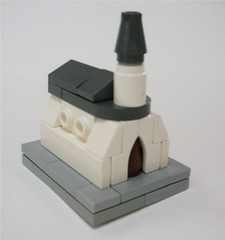 Microscale church (Tho) Tags: church lego micro moc microscale
