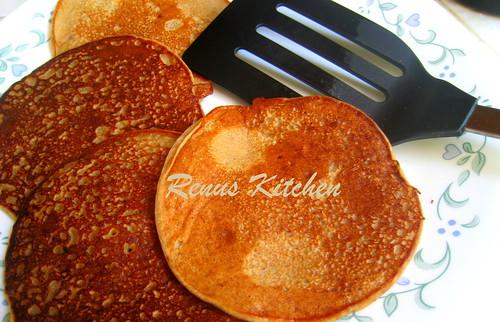 eggless dates pancakes
