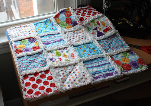 Rag Quilt - Post Wash