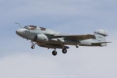 Grumman EA-6 Prowler @NAF El Centro-0656 (rob-the-org) Tags: morning iso100 noflash 300mm cropped f80 vikings usnavy 250 prowler grumman njk ea6 vaq129 1800sec elcentroca nafelcentro naswhidbeyisland knjk outsidethebase sn163034