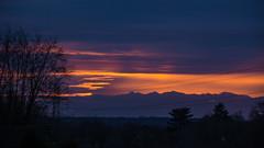 Sunset Little Sandhurst 16 February 2017 (2) (BaggieWeave) Tags: berkshire sandhurst littlesandhurst sunset atmospheric clouds