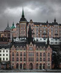 Södermalm, the Gull (photomatic.se) Tags: ifttt 500px södermalm stockholm sweden tower architectural cloudy
