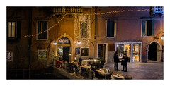 Accademia Venice (Peter & Olga) Tags: 2016 30th d810 venice canal nightshots olgabaldock winter christmaslights accademia