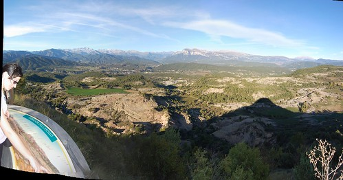 Mirador del Castillo en Santa María de Buil