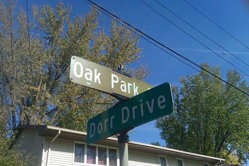 Oak Park Ave & Dorr Drive