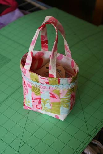 Friendship bag swap - bag with goodies