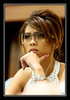 a diva's look (Liz Lieu) Tags: morocco pokertournament lizlieu thepokerdiva propokerplayer chilipokercom chilipokerambassador wptmarrakech huguesdeffournaisephotography specialeditionphotos