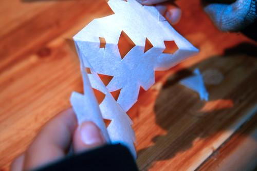 Crafting snowflake 4