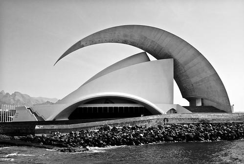 Tenerife Concert Hall, Canary Island, Spain, by jmhdezhdez