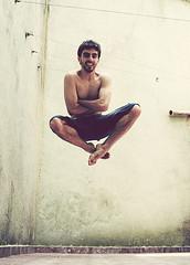 # Flying (Carlos Fachini ™) Tags: playing color photography flying jump pessoa sony imagens fotografia mem w130