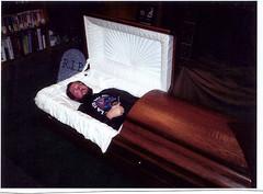 Dead Dave (wickerman) Tags: dead awesome casket corpse gaiman graveyardbook