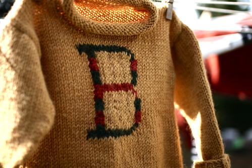 beasley weasley sweater