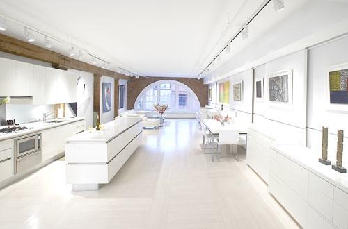 Luxury Kitchen Interior Design in Large Space