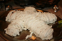 Crab Dip Mummy (heidi703) Tags: party nerd hotdog scary cowboy shots sperm eggs mustard smores mummy crabdip halloween2009 octomom creamcheesedip