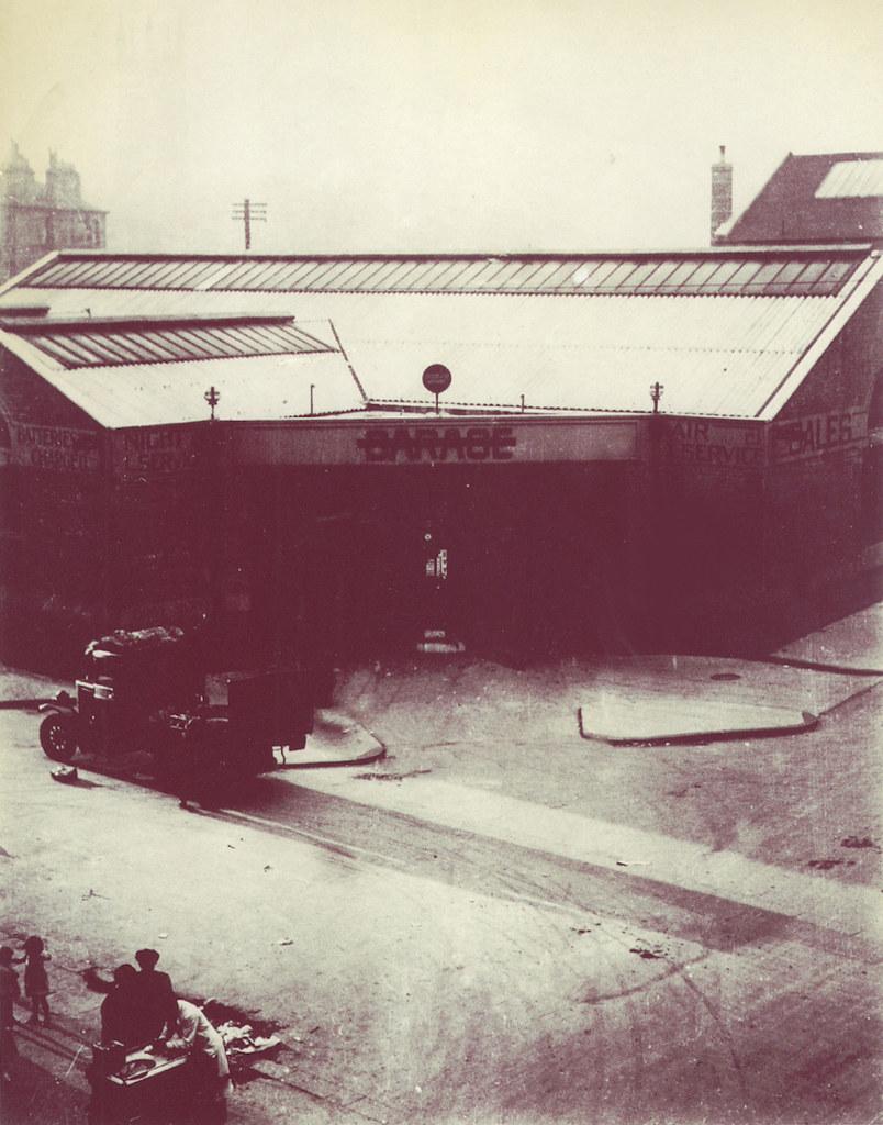 Caythorn St Garage, Calton, 1930