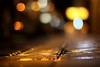 a vision softly creeping:  316/365 (helen sotiriadis) Tags: street wet night canon published dof bokeh pavement athens depthoffield greece sidewalk tiles 365 canonef50mmf14usm αθήνα canoneos40d toomanytribbles dslrmag