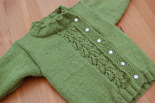 Emelyn's Baby Peapod Sweater