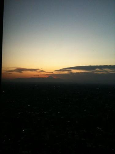 都庁からの夕暮れ
