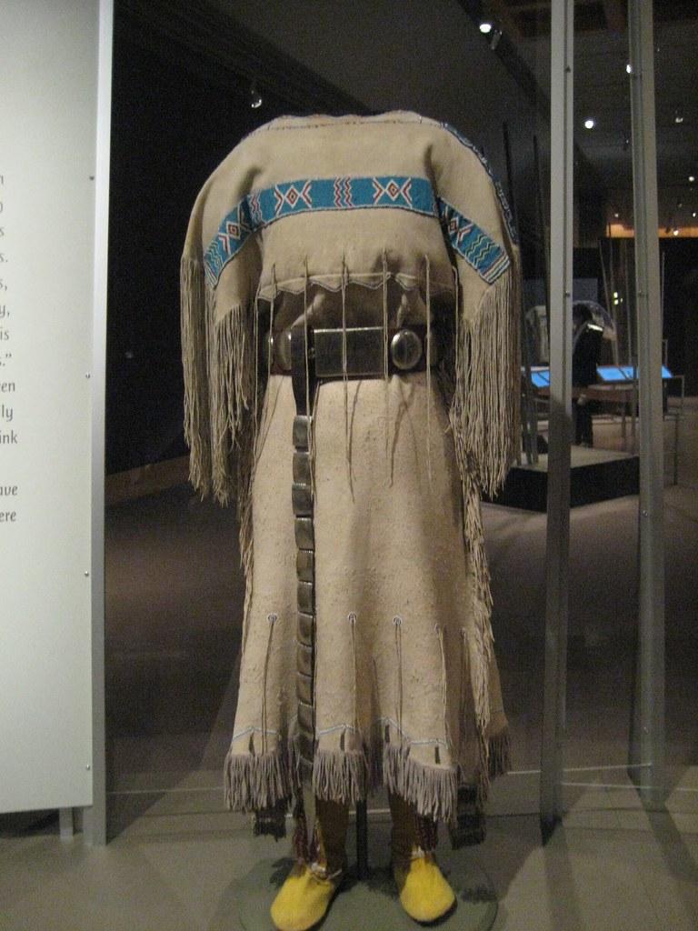 Comanche Three-Hide Dress